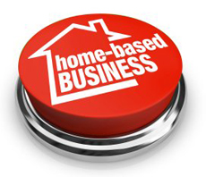 home based business buttonw